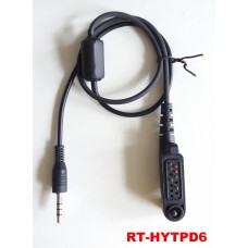 RT-HYTPD6 Radio Connection Cable for Hytera HYT PD605 PD665 PD685 Handheld Radios
