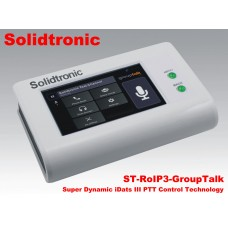 Solidtronic ST-RoIP3-GroupTalk RoIP Gateway with RT-4PS DIY Radio Connection Cable
